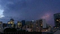 eclairs orage 8 juin 2014 Paris la defense