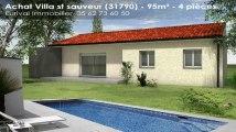 Vente de prestige - maison/villa - st sauveur (31790)  - 95m²