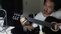 Guitar Playing - Scarborough Fair (Simple Chords)