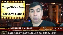 Tampa Bay Rays vs. Seattle Mariners Pick Prediction MLB Odds Preview 6-9-2014