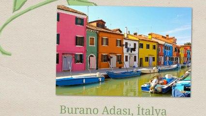 Dünyanın en renkli 10 şehri