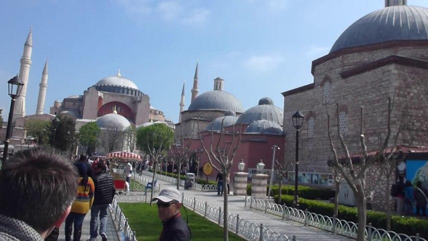 Entre la Mosquée bleue et Sainte-Sophie