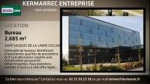 A louer - Bureaux - SAINT JACQUES DE LA LANDE (35136) - 2 685m²