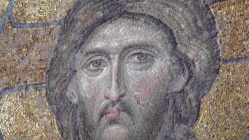 Mosaïque de la déisis de Sainte-Sophie