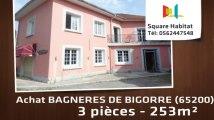 A vendre - Immeuble - BAGNERES DE BIGORRE (65200) - 3 pièces - 253m²