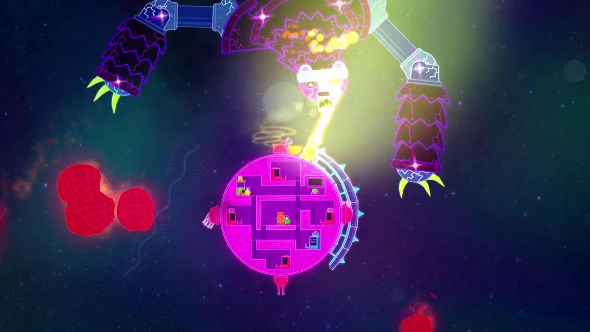 Lovers In A Dangerous Spacetime Trailer Video Dailymotion
