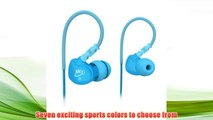 Best buy MEElectronics Sport-Fi M6 Noise-Isolating In-Ear Headphones with Memory Wire (Teal),