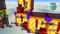 Super Mario Galaxy - Jardins venteux - Étoile 3 : Chaos gravitationnel des jardins venteux