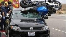 Compilation d'accident de voiture et de moto n°1 / Car and motorcycle crash compilation