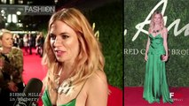 """BRITISH FASHION AWARDS 2013"" Red Carpet Celebrities Style by Fashion Channel"