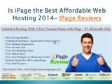 iPage Web Hosting - Fast, Reliable Unlimited Web Hosting Just $1.68/month only