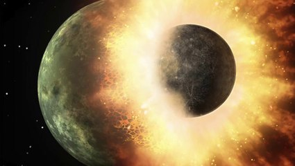 the big splat or how our moon came to be dana mackenzie