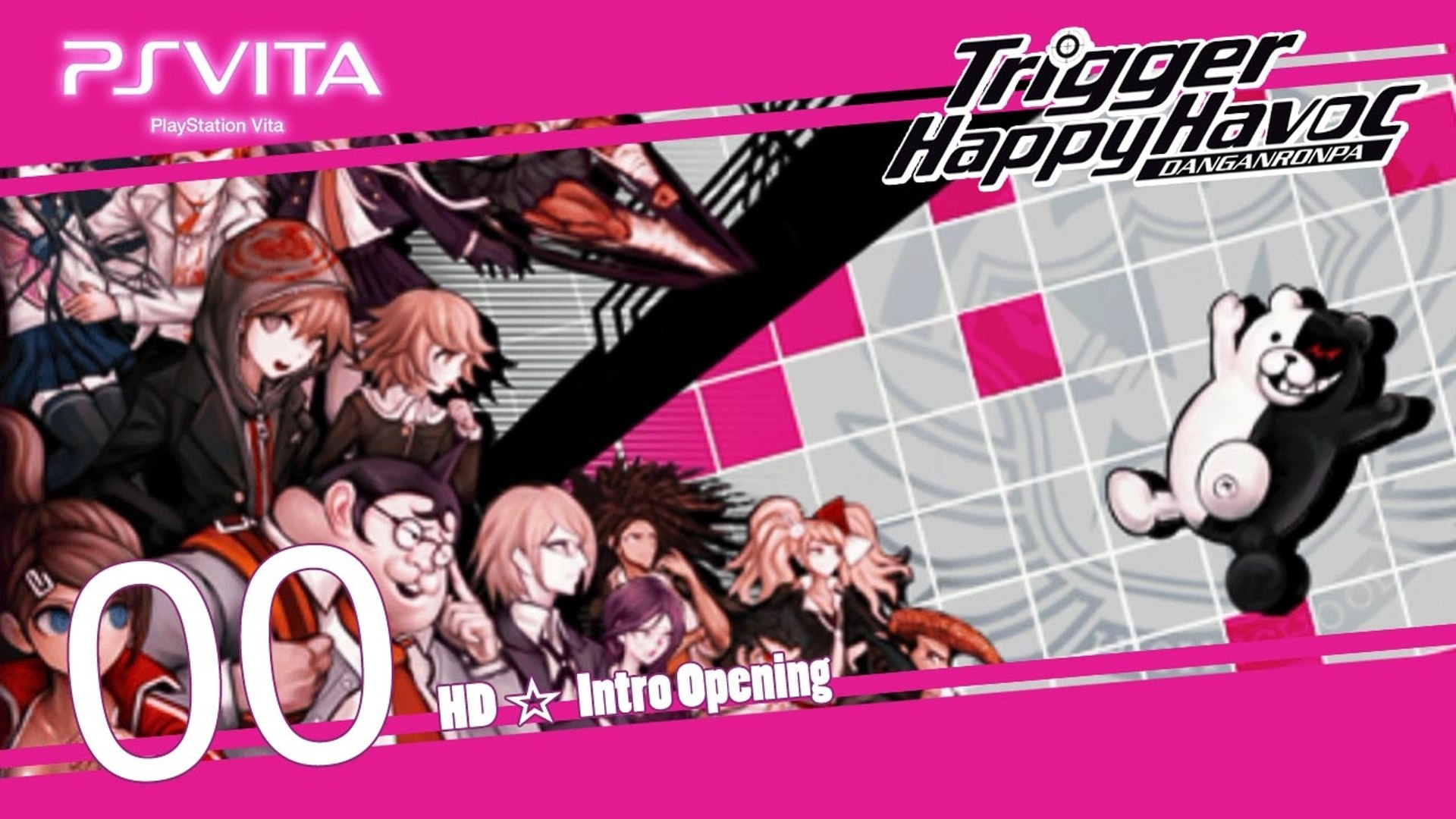 Danganronpa Trigger Happy Havoc Psv Intro Video Dailymotion