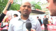 Noel Clarke talks about The Hooligan Factory on the red carpet