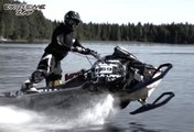 ZAP Extreme N°54 - Traverser un lac en motoneige !