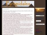 GRANDE PYRAMIDE D'EGYPTE : enquête sur les fissures au plafond de la chambre du roi.