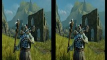 Middle-earth Shadow of Mordor Gameplay -- Nemesis System Power Struggles (3D HD)