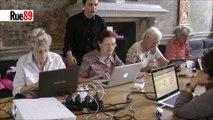 Internet et les mamies : « Avec la souris, pas avec le doigt »