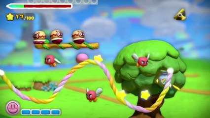 E3 2014 Wii U - Kirby and the Rainbow Curse Announ de Kirby et le pinceau arc-en-ciel