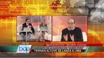 Fernan Altuve: El Gobierno apoya de manera encubierta a Susana Villarán (3/3)