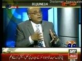 Khara Sach 10 June 2014 -(Terrorism Media Role.!!)- 10th June 2014-