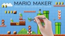 MARIO MAKER E3 2014 Announcement Trailer [Wii U]