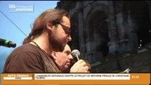 Les intermittents s'invitent à la Feria de Nîmes