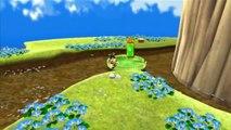 Super Mario Galaxy - Royaume des abeilles - Étoile 6 : Luigi au royaume des abeilles