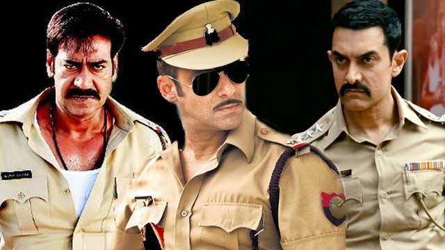 Bollywood Actors Playing Cops In Upcoming Films !