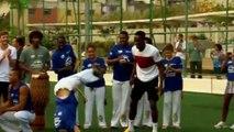 Insolite - Coupe du monde Brésil 2014 : Les Anglais se mettent à la Capoeira