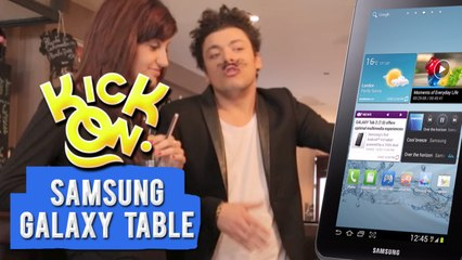 Fausse Pub: Samsung Galaxy Table - Kick On
