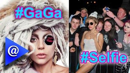 OMG! Lady Gaga grabbed by a Fan.