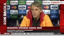 Galatasaray, Mancini ile Yollarını Ayırdı
