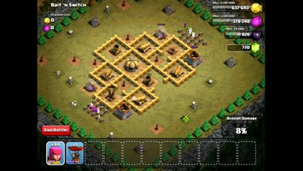 Clash Of Clans Level 39 – Bait 'n Switch