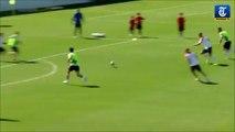2 joueur des Pays-bas se fight à l'entrainement! Robben VS Martins Indi