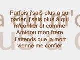 Je regarde là haut - La Fouine (Paroles / Lyrics)