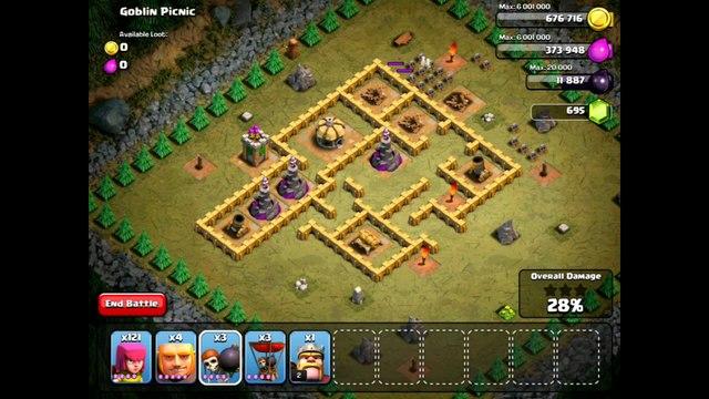 Clash Of Clans Level 38 - Goblin Picnic