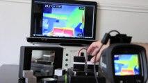 Isolation thermique vu par caméra thermique FLIR