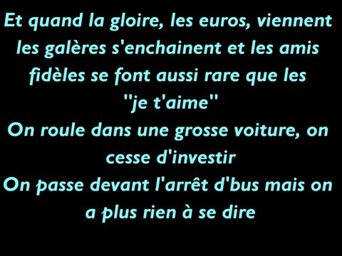 La Fouine ft Zaho - Ma meilleure (Paroles / Lyrics)