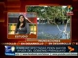 Paraguay: acusan miles al gobierno de no ayudarles tras inundaciones