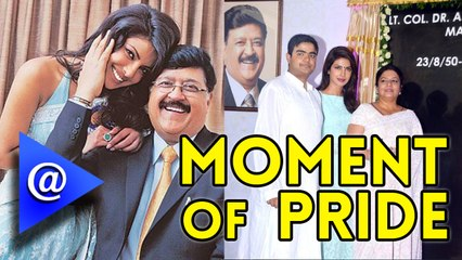 A Street to be named after Priyanka Chopra's Late Father.