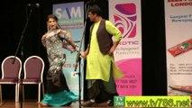 ZARA AKBAR & Jan Rambo Dance at Punjabi Stage Drama CHALO CHALO UK CHALO