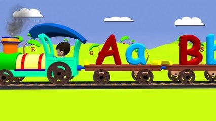 Alphabet train for kids   ABC Train For children
