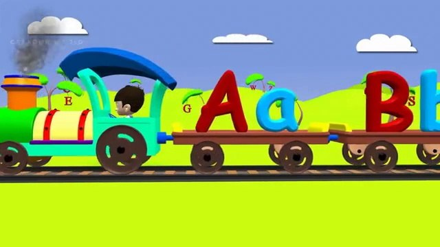 Alphabet train for kids   ABC Train For children