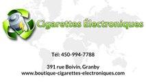 Une boutique de cigarettes électroniques (e-cigarette)