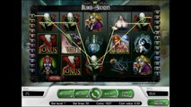 Blood Suckers video slot machines by NETENT free spins bonus at casino online big win