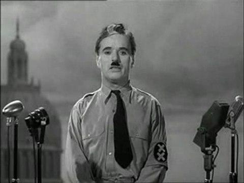 Extrait du Dictateur (Chaplin)