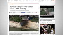Luxury Home Dangerously Dangling Off Collapsing Cliff