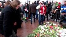 16 mart 2010 in memorial Latvian Legion.