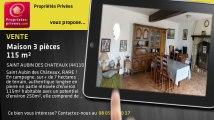 A vendre - maison - SAINT AUBIN DES CHATEAUX (44110) - 3 pièces - 115m²